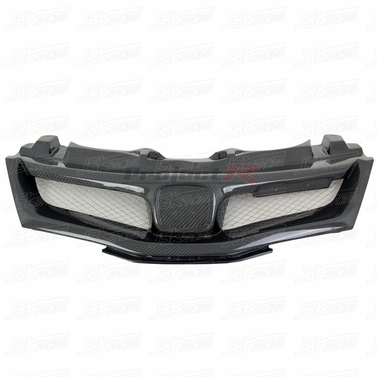 Carbon Mugen Style Grill For Honda Civic Type R FN2 (06