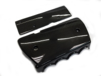 Genuine Carbonfiber Intake Manifold Cover K24 TSX + coil cover