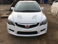 Mugen style Vented Hood For Civic FD2 Type-r